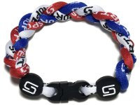 Triple Titanium Bracelet (Red/White/Blue)