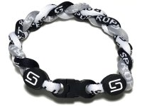 Triple Titanium Bracelet (Gray/Black/White)